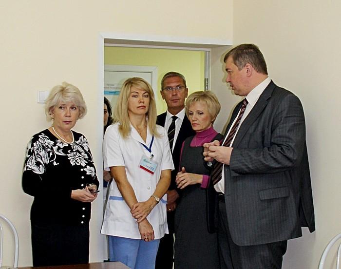 Министр здравоохранения Вадим Янин с проверкой в психоневрологическом отделении ККДБ