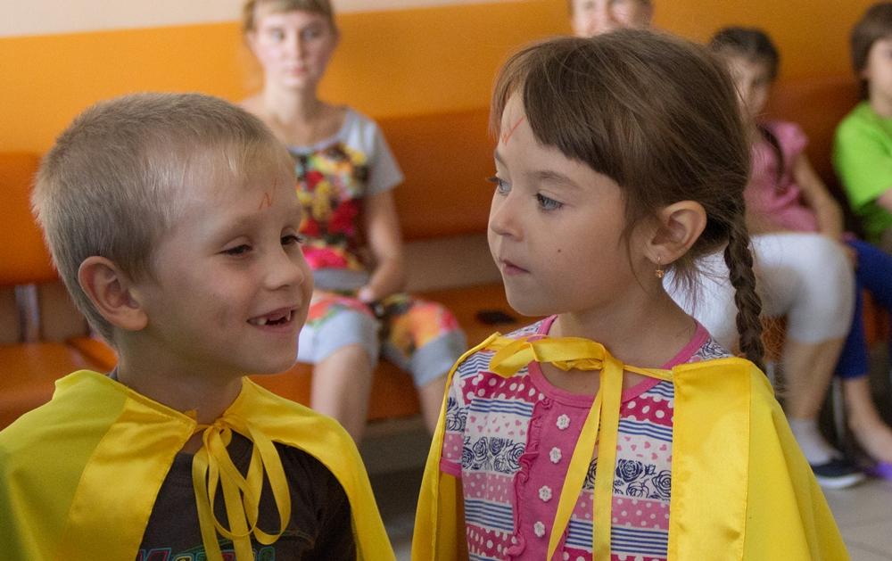 День знаний в детских отделениях