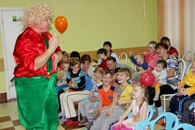 В психоневрологическом отделении состоялся детский праздник