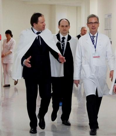 Встреча с губернатором Красноярского края Л.В. Кузнецовым