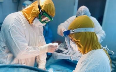В Красноярском межрайонном родильном доме № 1 открылось отделение для беременных и рожениц с ковидом