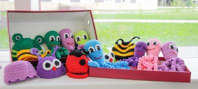 Чудо-осьминожки в Краевом центре охраны материнства и детства