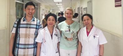 Китайские врачи дали высокую оценку Краевому центру реабилитации детей-инвалидов