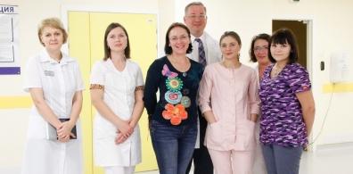 Главный внештатный неонатолог Минздрава РФ по СФО с рабочим визитом посетила Краевой центр охраны материнства и детства