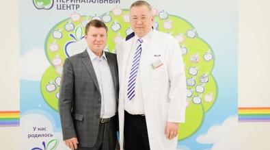 Мэр города встретился с коллективом Краевого центра охраны материнства и детства