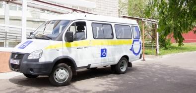 Автопарк Краевого центра охраны материнства и детства пополнился новым транспортом для маломобильных пациентов