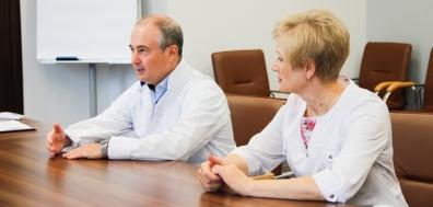 Министр здравоохранения Красноярского края с рабочим визитом посетил Краевой центр охраны материнства и детства