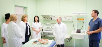 Министр здравоохранения Красноярского края Борис Немик совершил клинический обход акушерских отделений краевого центра охраны материнства и детства