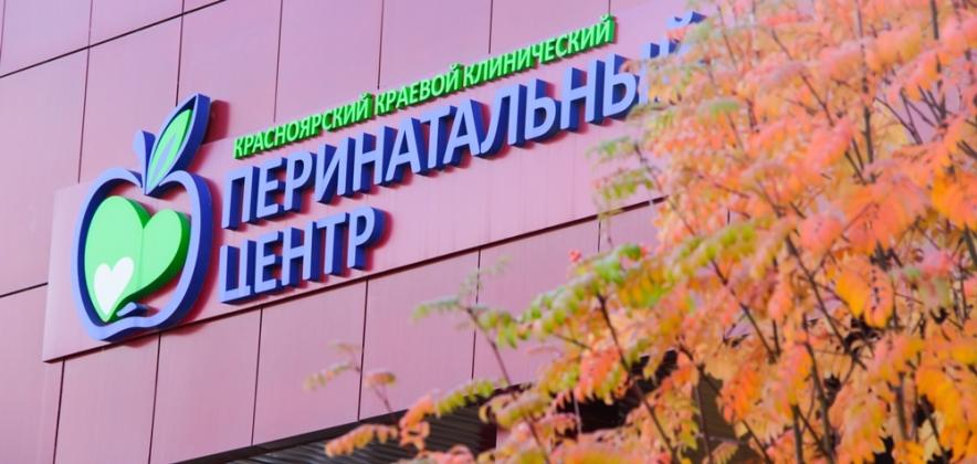 Благодарная пациентка изобразила Красноярский перинатальный центр на холсте