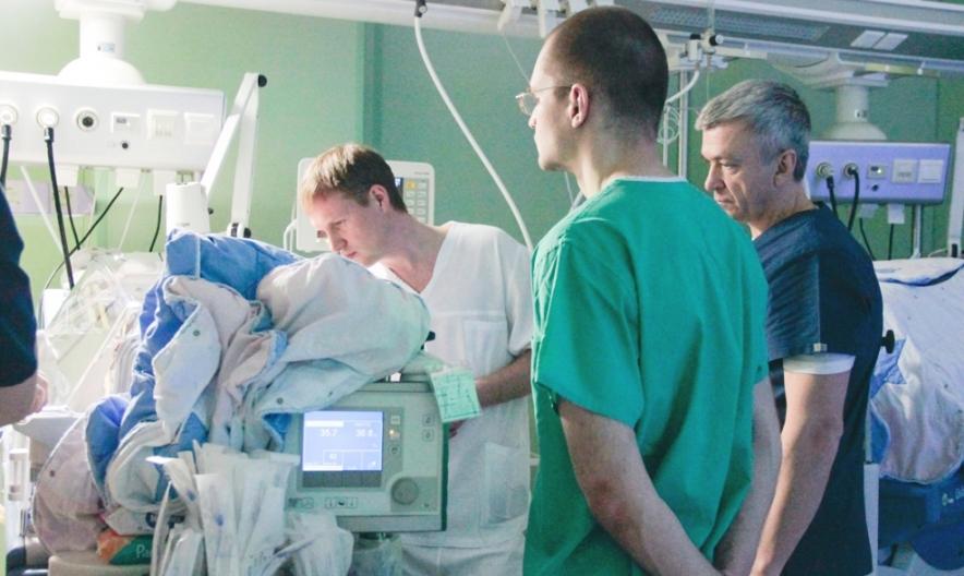 Красноярский краевой клинический центр охраны материнства и детства посетили специалисты из Томского перинатального центра