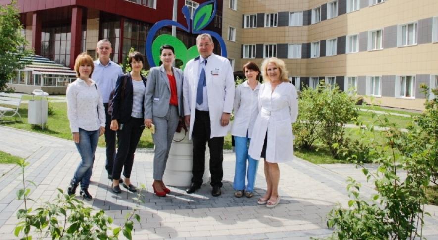 Продолжается работа по созданию  центра трансплантации костного мозга для детей с онкогематологическими заболеваниями