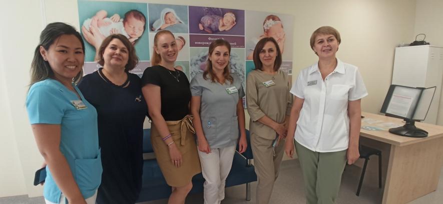 В Красноярском краевом центре охраны материнства и детства стартовал социальный проект «Мы рядом».